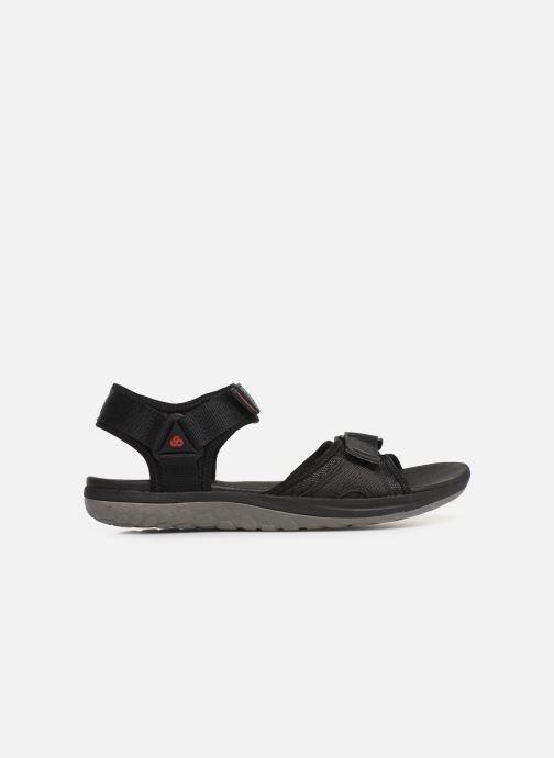Sandales et nu-pieds Cloudsteppers by Clarks Step Beat Sun Noir vue derrière