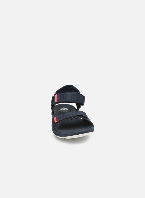 Sandales et nu-pieds Cloudsteppers by Clarks Step Beat Sun Bleu vue portées chaussures