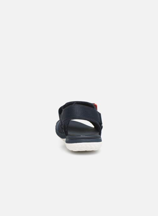 Sandales et nu-pieds Cloudsteppers by Clarks Step Beat Sun Bleu vue droite