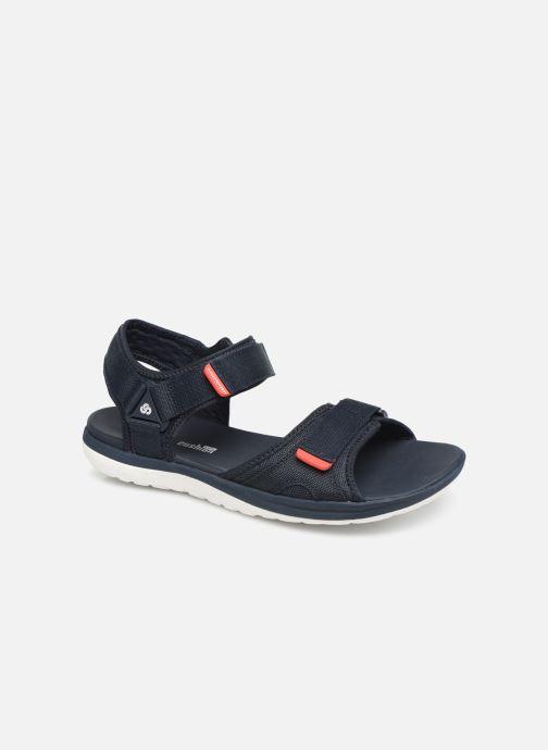 Sandales et nu-pieds Cloudsteppers by Clarks Step Beat Sun Bleu vue détail/paire
