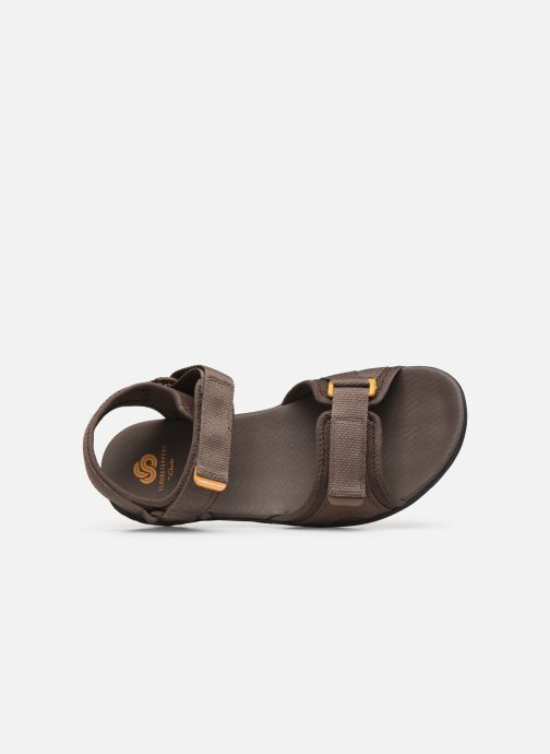 Sandalen Cloudsteppers by Clarks Step Beat Sun braun ansicht von links
