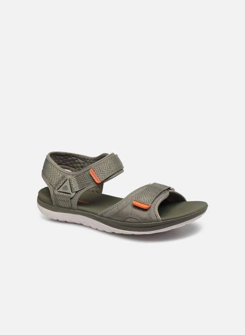 Sandales et nu-pieds Cloudsteppers by Clarks Step Beat Sun Vert vue détail/paire