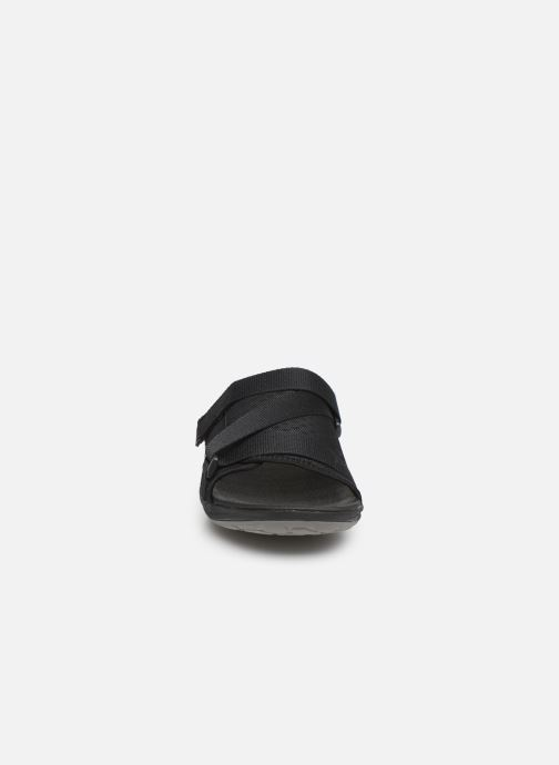 Sandals Cloudsteppers by Clarks Step Beat Surf Black model view