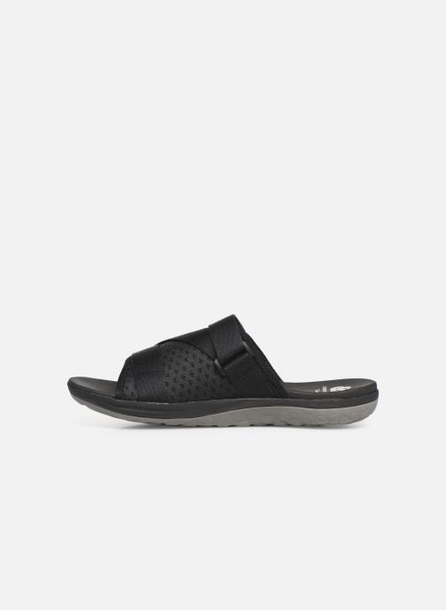 Sandals Cloudsteppers by Clarks Step Beat Surf Black front view