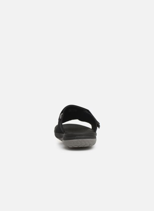 Sandals Cloudsteppers by Clarks Step Beat Surf Black view from the right