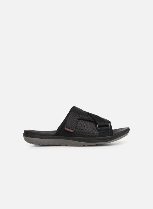 Sandals Cloudsteppers by Clarks Step Beat Surf Black back view
