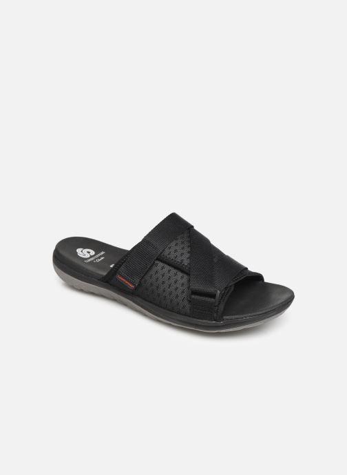 Sandales et nu-pieds Cloudsteppers by Clarks Step Beat Surf Noir vue détail/paire