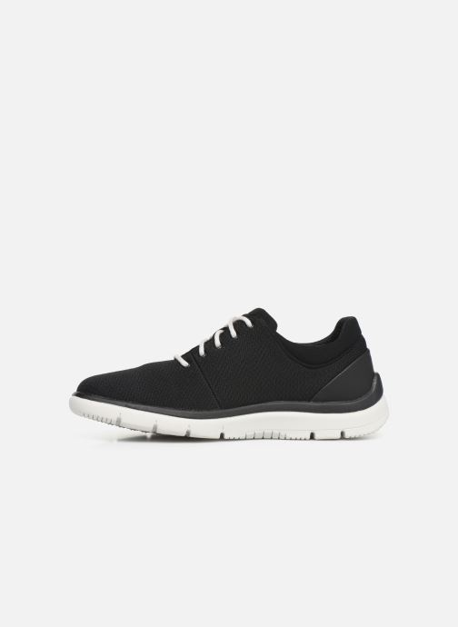 Trainers Cloudsteppers by Clarks Tunsil Ace Black front view