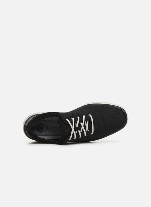 Sneaker Cloudsteppers by Clarks Tunsil Ace schwarz ansicht von links