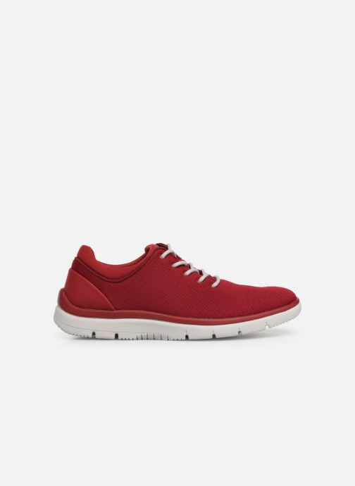 Deportivas Cloudsteppers by Clarks Tunsil Ace Rojo vistra trasera