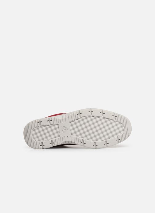 Baskets Cloudsteppers by Clarks Tunsil Ace Rouge vue haut