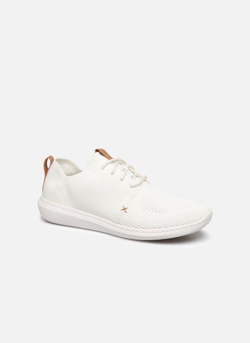Baskets Cloudsteppers by Clarks Step Urban Mix Blanc vue détail/paire
