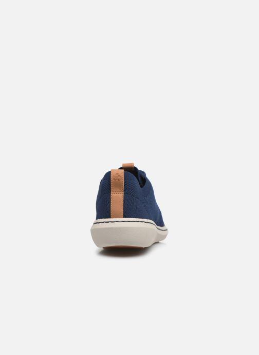 Baskets Cloudsteppers by Clarks Step Urban Mix Bleu vue droite