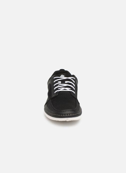 Baskets Cloudsteppers by Clarks Step Maro Sol Noir vue portées chaussures