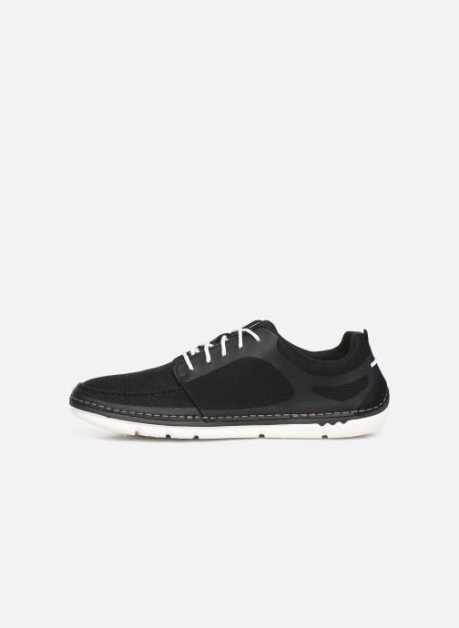 Trainers Cloudsteppers by Clarks Step Maro Sol Black front view