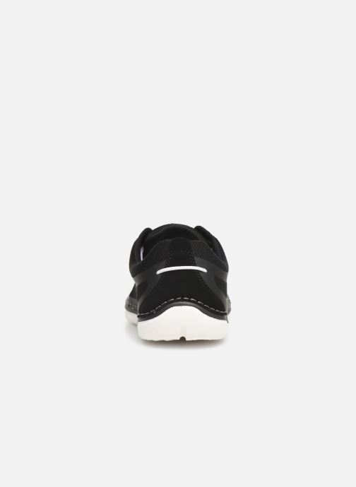 Trainers Cloudsteppers by Clarks Step Maro Sol Black view from the right