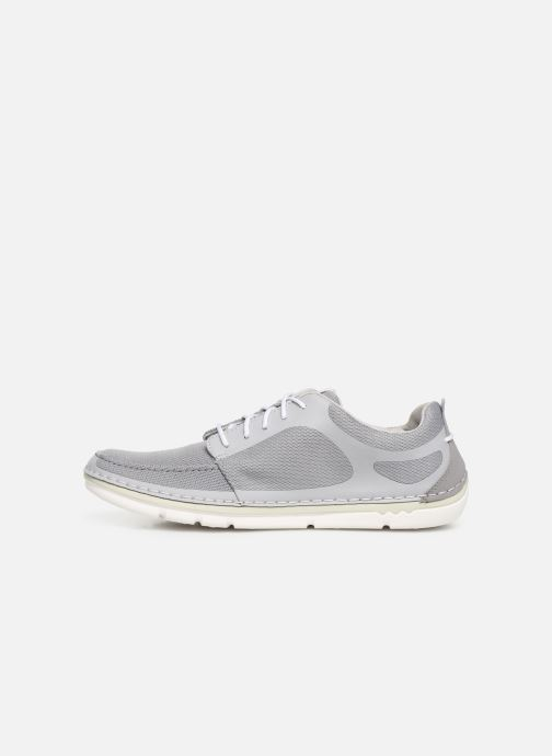 Baskets Cloudsteppers by Clarks Step Maro Sol Gris vue face
