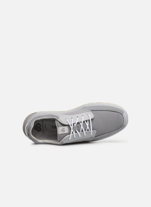 Baskets Cloudsteppers by Clarks Step Maro Sol Gris vue gauche