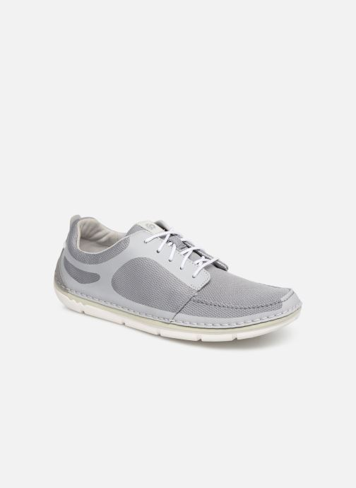 Trainers Cloudsteppers by Clarks Step Maro Sol Grey detailed view/ Pair view