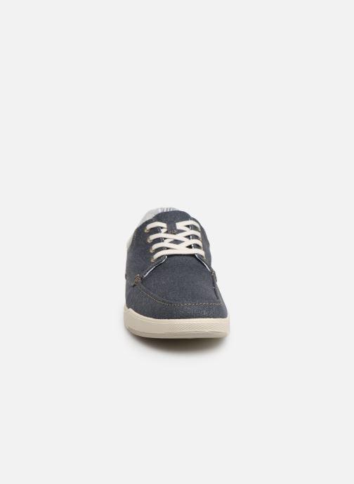 Baskets Cloudsteppers by Clarks Step Isle Lace Bleu vue portées chaussures