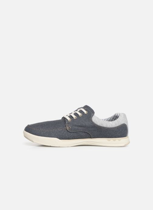 Baskets Cloudsteppers by Clarks Step Isle Lace Bleu vue face