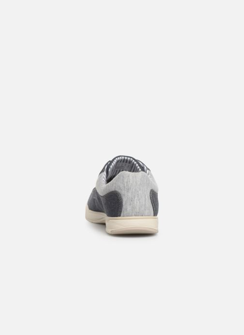 Deportivas Cloudsteppers by Clarks Step Isle Lace Azul vista lateral derecha