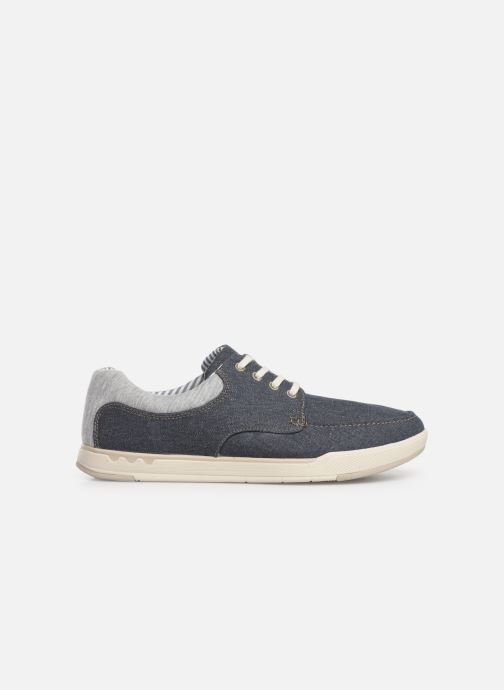 Sneakers Cloudsteppers by Clarks Step Isle Lace Blauw achterkant