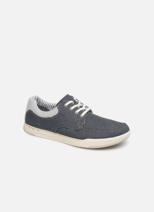Sneakers Cloudsteppers by Clarks Step Isle Lace Blauw detail