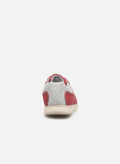 Baskets Cloudsteppers by Clarks Step Isle Lace Rouge vue droite