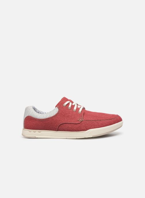 Sneaker Cloudsteppers by Clarks Step Isle Lace rot ansicht von hinten