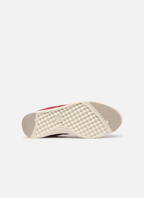 Baskets Cloudsteppers by Clarks Step Isle Lace Rouge vue haut