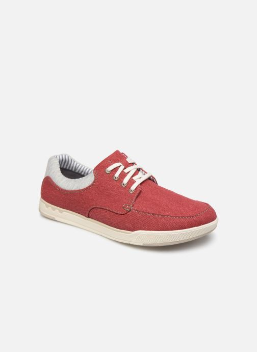 Baskets Cloudsteppers by Clarks Step Isle Lace Rouge vue détail/paire