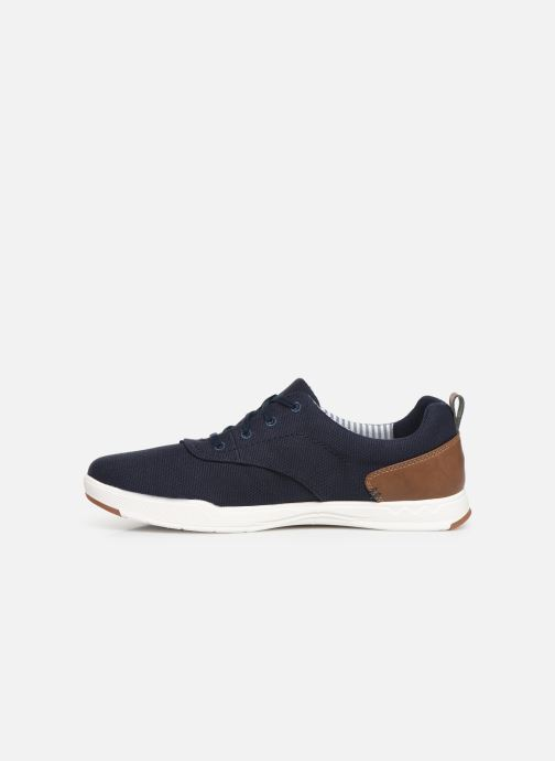 Baskets Cloudsteppers by Clarks Step Isle Crew Bleu vue face