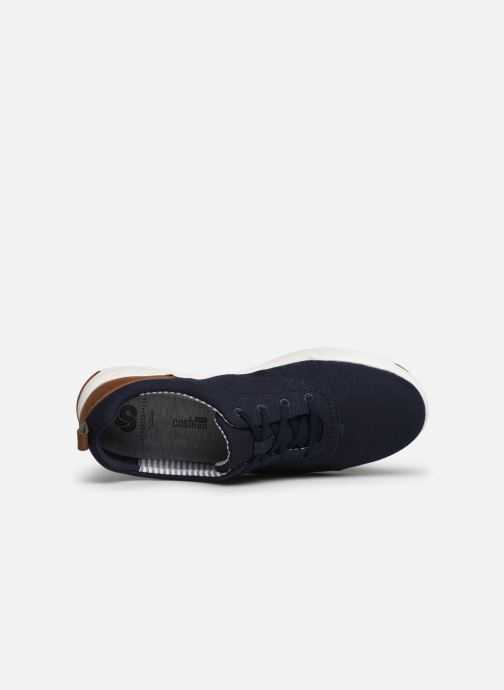 Baskets Cloudsteppers by Clarks Step Isle Crew Bleu vue gauche
