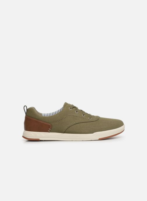 Trainers Cloudsteppers by Clarks Step Isle Crew Green back view