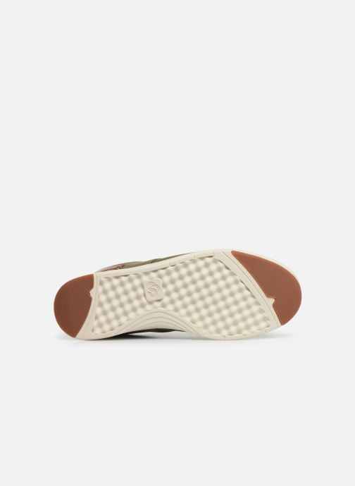 Baskets Cloudsteppers by Clarks Step Isle Crew Vert vue haut