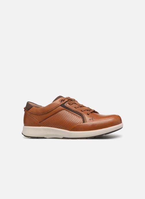 Sneakers Clarks Unstructured UN TRAIL FORM Marrone immagine posteriore