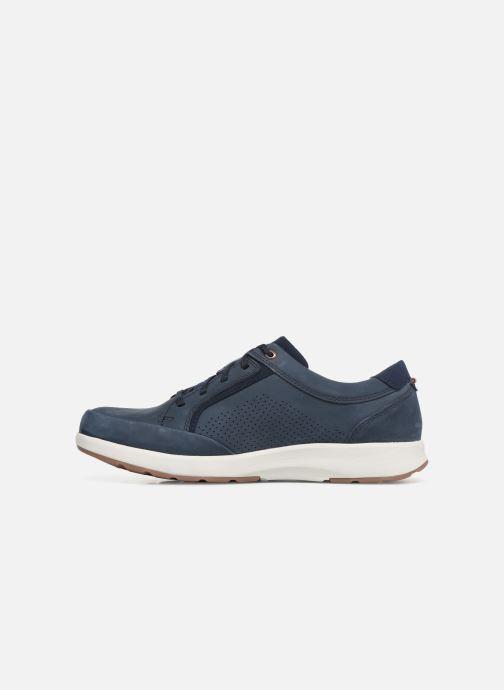 Sneakers Clarks Unstructured UN TRAIL FORM Azzurro immagine frontale