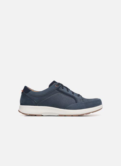 Sneaker Clarks Unstructured UN TRAIL FORM blau ansicht von hinten