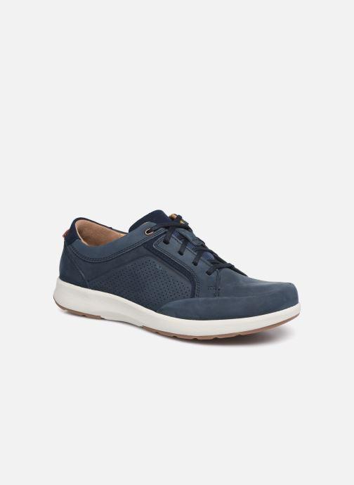 Sneaker Clarks Unstructured UN TRAIL FORM blau detaillierte ansicht/modell