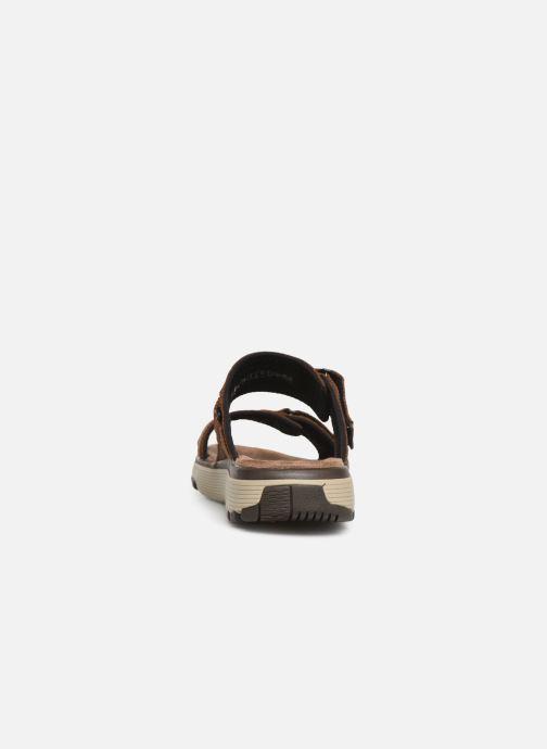 Sandales et nu-pieds Clarks Unstructured UN TREK WALK Marron vue droite