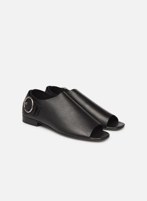 pieds Callie Project Et Sandales noir Another Nu 361985 Chez wpBg7qnxZ4