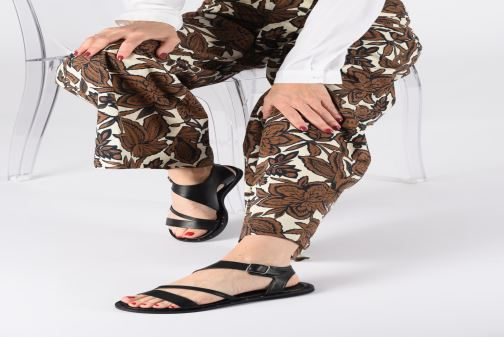 Sandales et nu-pieds Another Project Deb Noir vue bas / vue portée sac