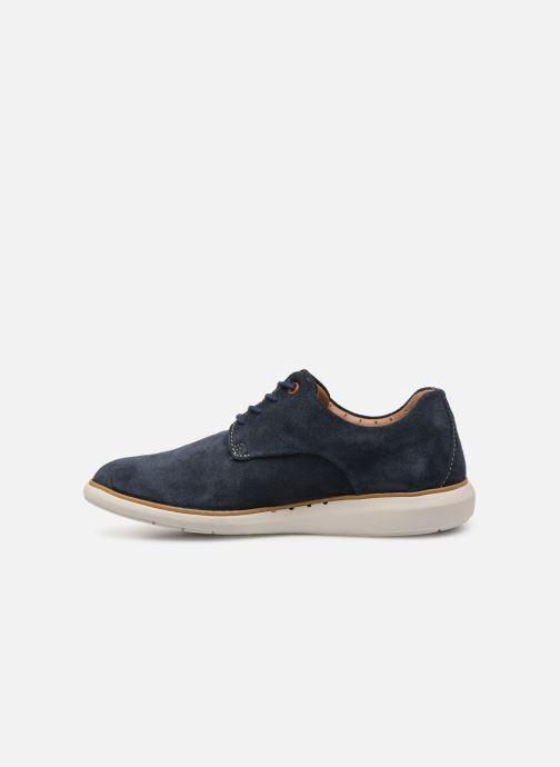 Chaussures à lacets Clarks Unstructured UN VOYAGE PLAIN Bleu vue face