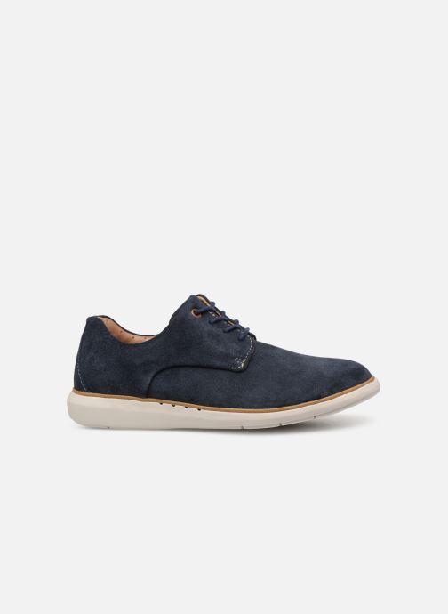Chaussures à lacets Clarks Unstructured UN VOYAGE PLAIN Bleu vue derrière