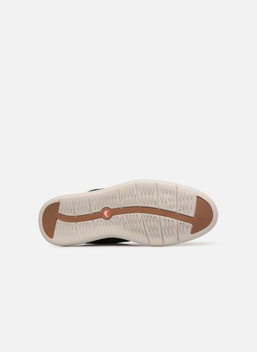 Chaussures à lacets Clarks Unstructured UN VOYAGE PLAIN Bleu vue haut