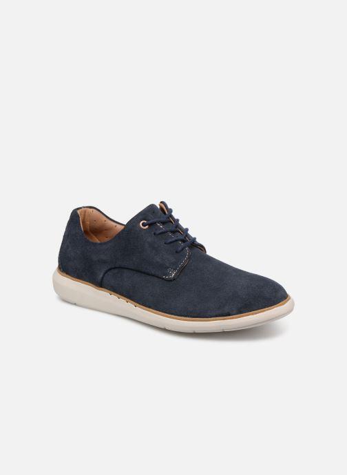 Zapatos con cordones Clarks Unstructured UN VOYAGE PLAIN Azul vista de detalle / par