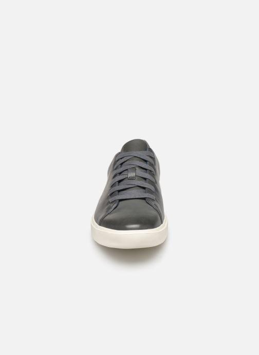 Sneaker Clarks Unstructured UN COSTA LACE blau schuhe getragen