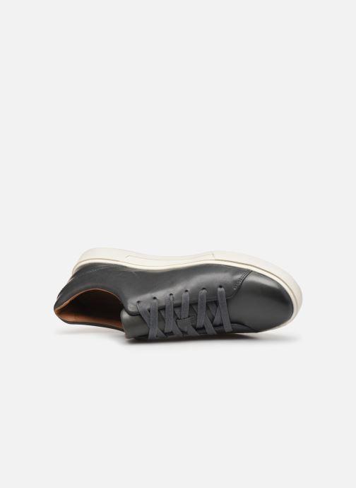 Sneaker Clarks Unstructured UN COSTA LACE blau ansicht von links