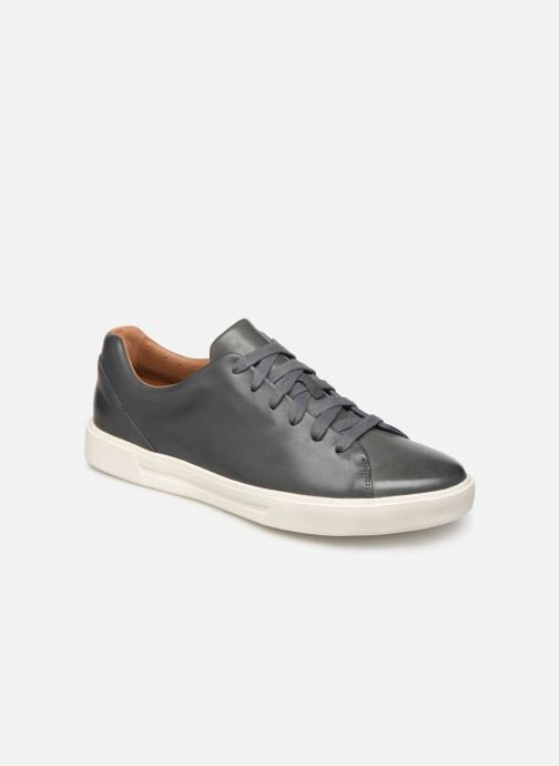 Baskets Clarks Unstructured UN COSTA LACE Bleu vue détail/paire